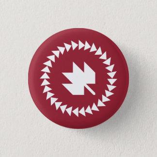 Badge Canadiens au bouton de QuiltCon