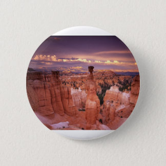 Badge Canyon grand pendant l'heure d'or