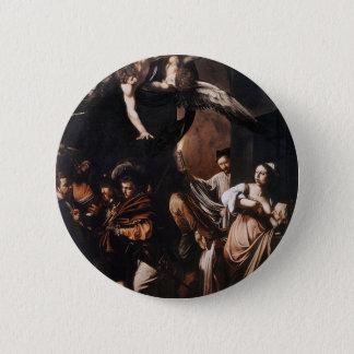 Badge Caravaggio - les sept travaux de la peinture de
