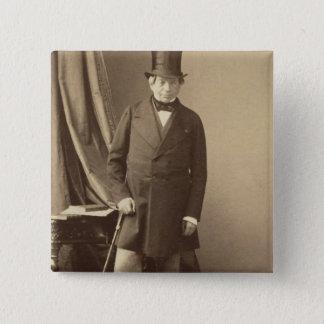 Badge Carré 5 Cm Baron James Rothschild