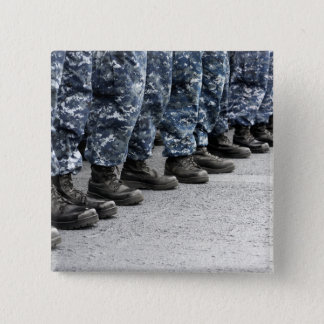 Badge Carré 5 Cm Basse vue de section des marins