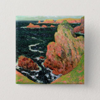 Badge Carré 5 Cm Belle Ile de Claude Monet |