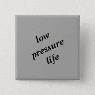 Badge Carré 5 Cm Bouton de la vie de basse pression