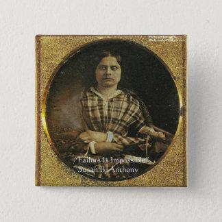 Badge Carré 5 Cm Cadeaux et cartes de citation de sagesse de Susan