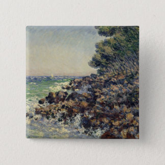 Badge Carré 5 Cm Casquette Martin, 1884 de Claude Monet |