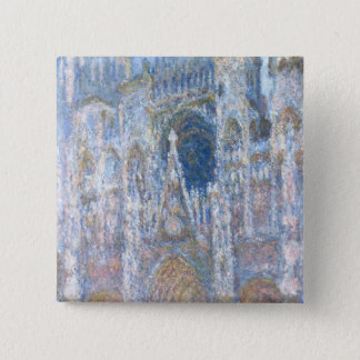 Badge Carré 5 Cm Cathédrale de Claude Monet | Rouen