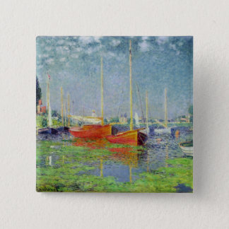 Badge Carré 5 Cm Claude Monet | Argenteuil, c.1872-5