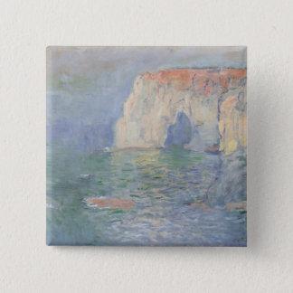 Badge Carré 5 Cm Claude Monet | Etretat