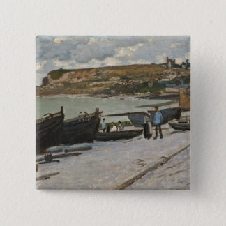 Badge Carré 5 Cm Claude Monet | Sainte-Adresse, 1867