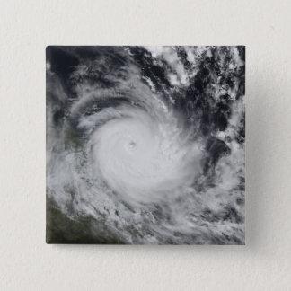 Badge Carré 5 Cm Cyclone tropical grave Hamish