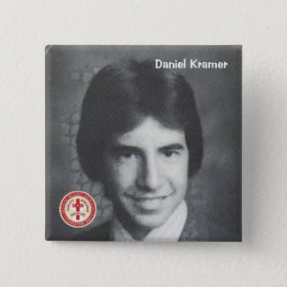 Badge Carré 5 Cm Daniel Kramer
