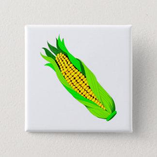 Badge Carré 5 Cm Épi de blé
