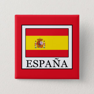 Badge Carré 5 Cm España