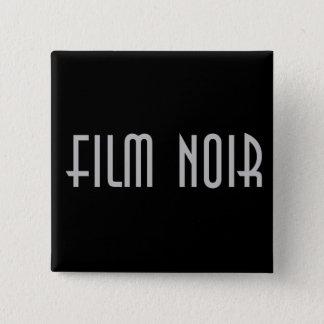Badge Carré 5 Cm Film Noir