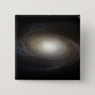 Badge Carré 5 Cm Galaxie en spirale M81