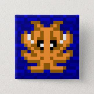 Badge Carré 5 Cm Insigne de seiches de camouflage de seau de