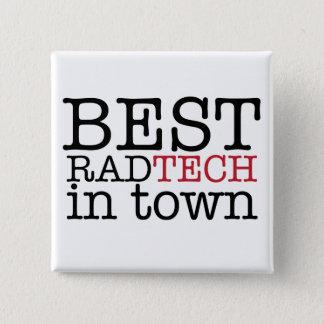 Badge Carré 5 Cm La meilleure technologie de rad dans le bouton de