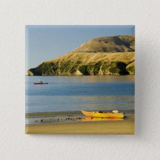 Badge Carré 5 Cm La Nouvelle Zélande, île du sud, bruits de