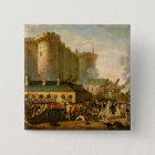 Badge Carré 5 Cm La prise de la bastille, le 14 juillet 1789