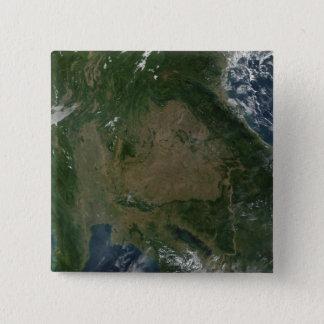 Badge Carré 5 Cm L'Asie du sud-est