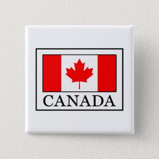 Badge Carré 5 Cm Le Canada