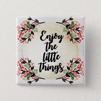 Badge Carré 5 Cm Les inspirations de Becca - appréciez les petites