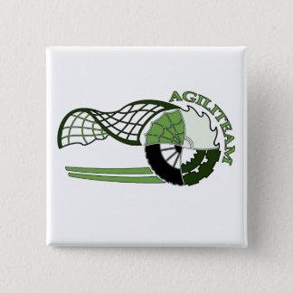 Badge Carré 5 Cm Macaron AGILITEAM