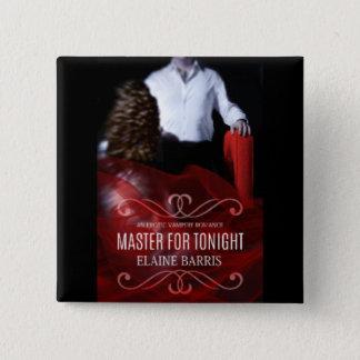 Badge Carré 5 Cm Maître pour le bouton de ce soir