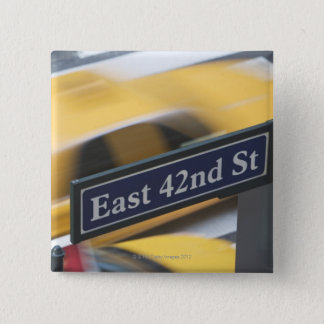 Badge Carré 5 Cm Manhattan
