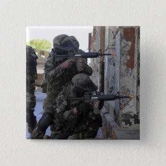 Badge Carré 5 Cm Marines chiliennes