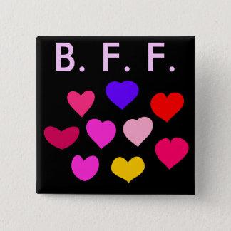 Badge Carré 5 Cm Meilleur ami pour toujours