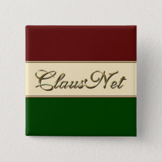 Badge Carré 5 Cm Membre de ClausNet