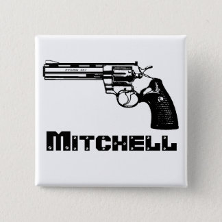 Badge Carré 5 Cm Mitchell !