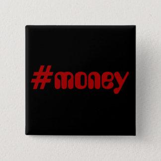 Badge Carré 5 Cm #Money