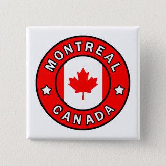 Badge Carré 5 Cm Montréal Canada