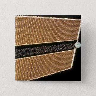 Badge Carré 5 Cm Panneau droit d'aile de rangée solaire