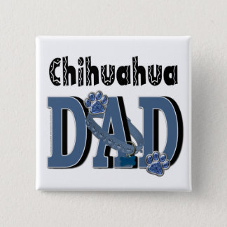 Badge Carré 5 Cm PAPA de chiwawa