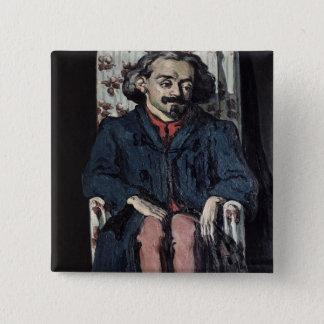 Badge Carré 5 Cm Paul Cezanne | Achille Emperaire c.1879