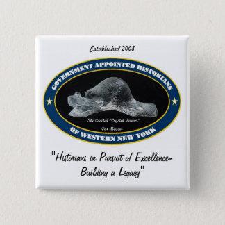 Badge Carré 5 Cm PIN de GAHWNY (carré seulement)