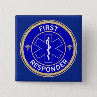 Badge Carré 5 Cm Premier répondeur