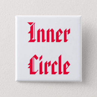 Badge Carré 5 Cm Seulement La FAMILLE sont cercle intime