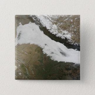 Badge Carré 5 Cm Une banque épaisse de bas nuages
