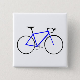 Badge Carré 5 Cm Vélo de route