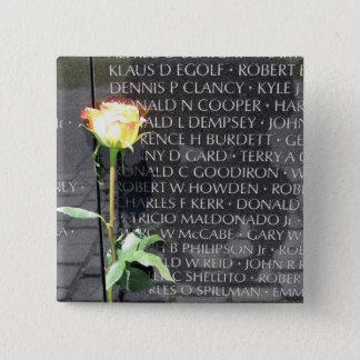 Badge Carré 5 Cm vétérans du Vietnam commémoratifs