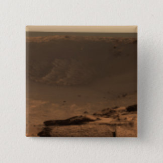 Badge Carré 5 Cm Vue panoramique de Mars 9