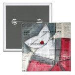 badge carré geisha