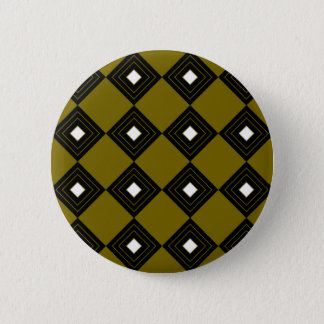 Badge Carrés vintages d'ethno d'or du Maroc
