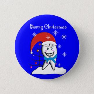 Badge Cartes et cadeaux de Noël de dentiste