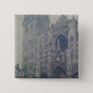 Badge Cathédrale de Claude Monet | Rouen, à l'ouest