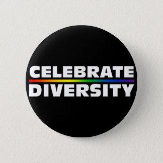Badge Célébrez le bouton noir de diversité